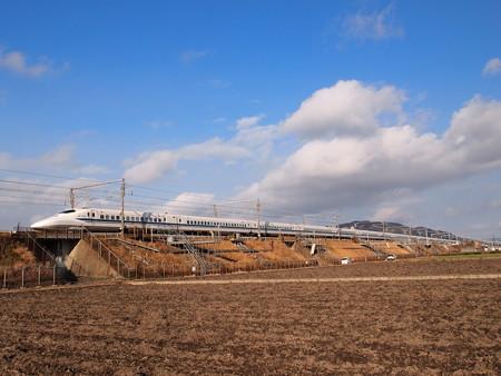 700系こだま 東海道新幹線米原~京都