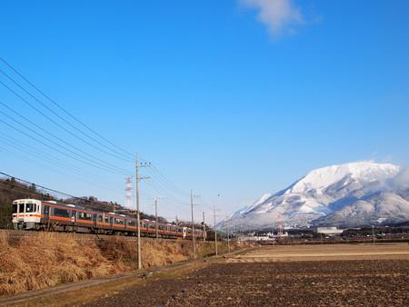 313系新快速 東海道本線近江長岡~柏原