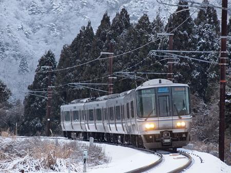 223系新快速 北陸本線新疋田~敦賀