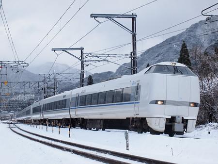 683系特急サンダーバード 北陸本線新疋田~敦賀