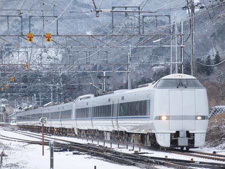 683系特急サンダーバード 北陸本線新疋田~敦賀5