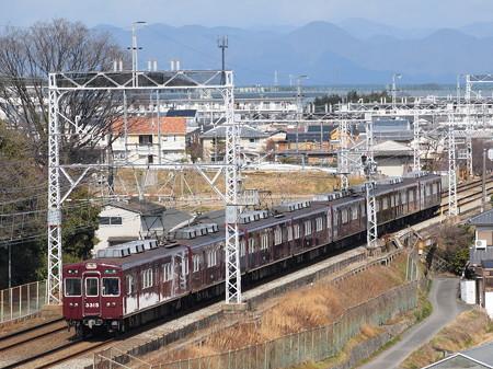 阪急3300系準急 阪急京都線西山天王山~大山崎