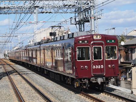 阪急3300系準急 阪急京都線西山天王山駅