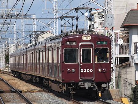阪急5300系準急 阪急京都線西山天王山駅