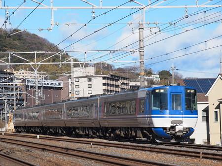 HOT7000系特急スーパーはくと 東海道本線山崎~島本