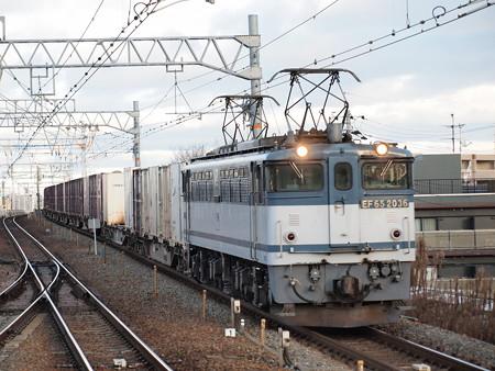 EF65 貨物 東海道本線甲子園口駅