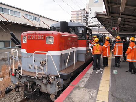 DE10 片町線徳庵駅