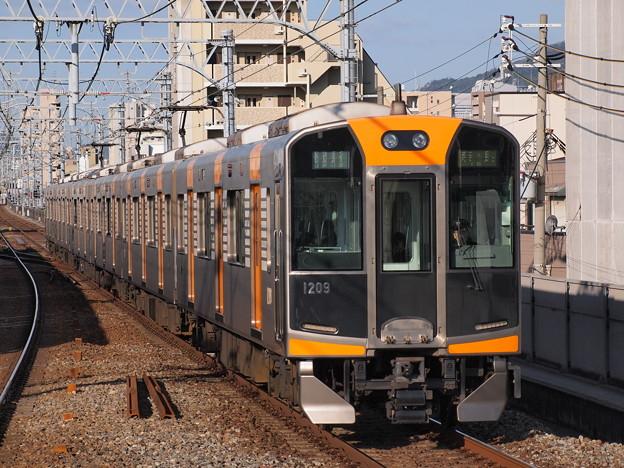 阪神1000系快速急行 阪神本線石屋川駅