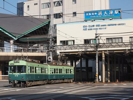京阪600形 京阪石山坂本線浜大津~三井寺