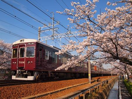 阪急7000系普通 阪急神戸線塚口~武庫之荘