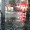 Photos: 上海8月20日 夕立 どしゃ降りの雨と雷