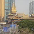 Photos: 歩道橋から静安寺を
