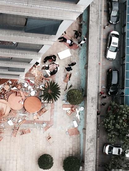 東莞 中国石油レストラン爆発事故 (3)