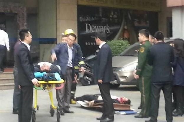 東莞 中国石油レストラン爆発事故 (8)