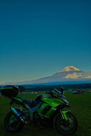 富士と初号機
