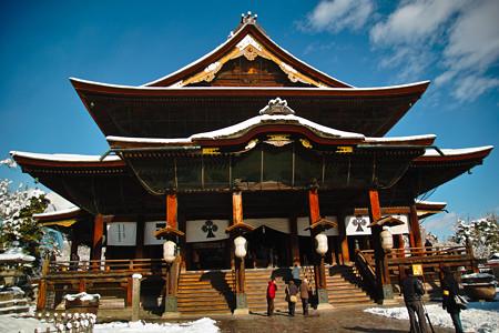 冬の善光寺2