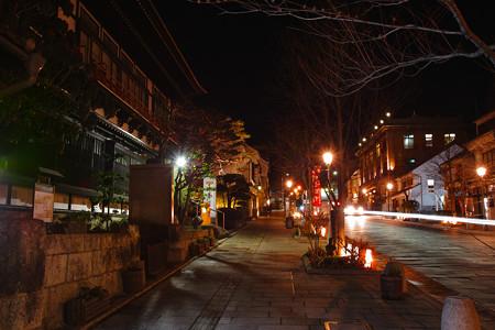 夜の善光寺参道II