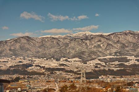 冬の伊那谷