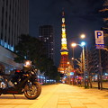 東京タワーと愛車