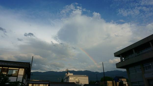 P.A.WORKS上空に虹
