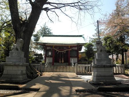 粕谷八幡神社-04拝殿a