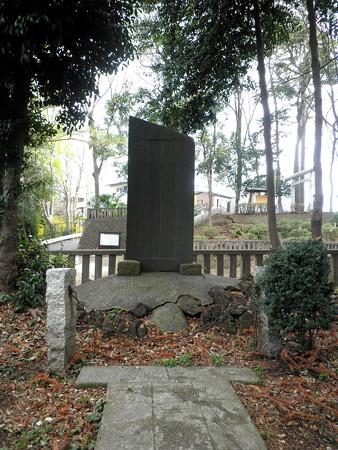 祖師谷神明社-05石橋供養碑