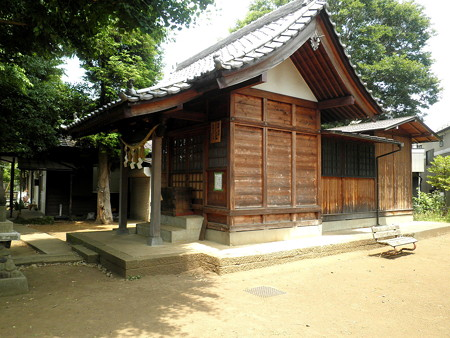 八釼神社(菊野台)-03拝殿