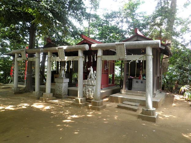 糟嶺神社(入間町)-05境内社(天満宮・稲荷明神・稲荷明神)