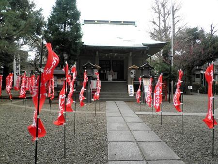 上目黒氷川神社-04拝殿b