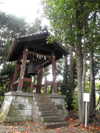 世田谷観音-14鐘楼堂&多羅葉樹(右)