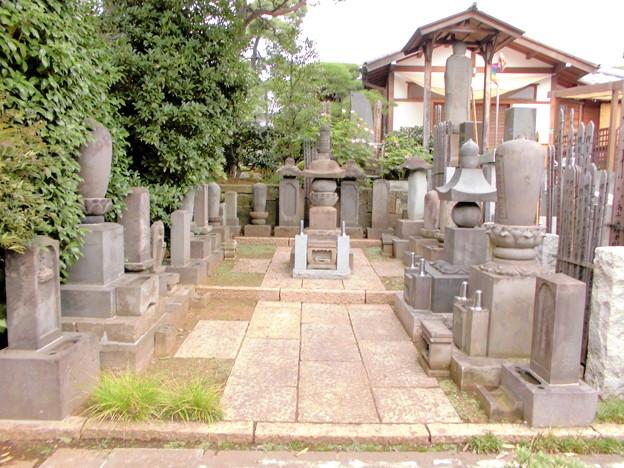 密蔵院-06墓地c金剛尊院(後方)