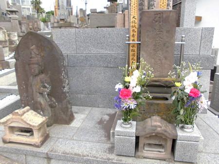 東光院-08墓地d法界萬霊供養塔(右)