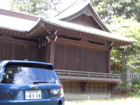 熊野神社-05神楽殿a