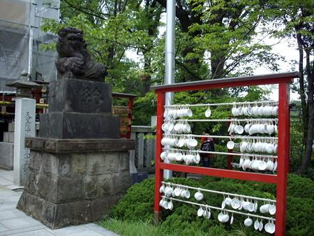 浅間神社-08お皿の絵馬