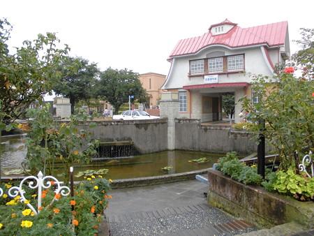 田園調布駅界隈(小雨・雷雨)-03旧田園調布西口駅舎(復元)