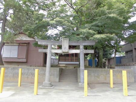白幡・菅原神社-01鳥居a