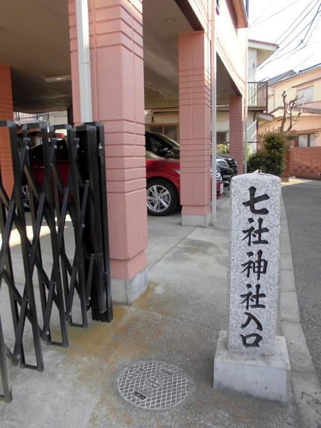 都電荒川線_王子駅前駅界隈:飛鳥山周辺_七所神社-01