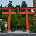写真: 大崎八幡宮・一の鳥居