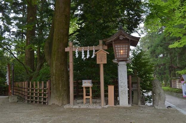 写真: 大崎八幡宮・遥拝所