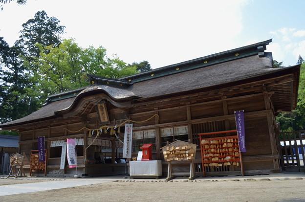 写真: 大崎八幡宮・長床