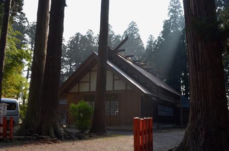 櫛引八幡宮・祖霊社