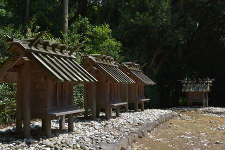 神服織機殿神社 - 神服織機殿神社末社八所3