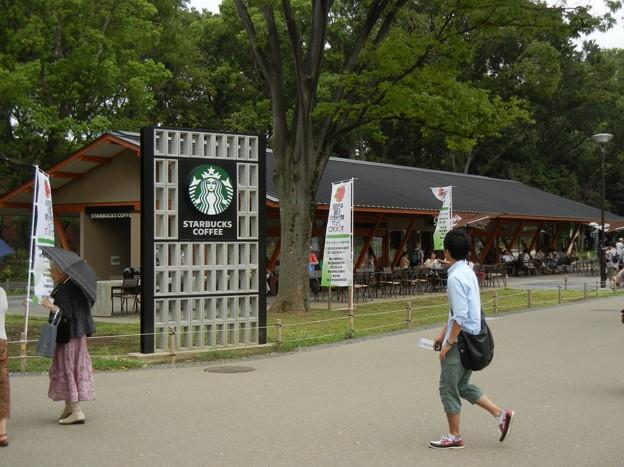 写真: 上野動物園前のスタバDSCN4299
