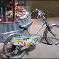 角の自転車