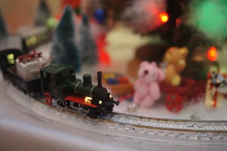光る汽車@2012クリスマス