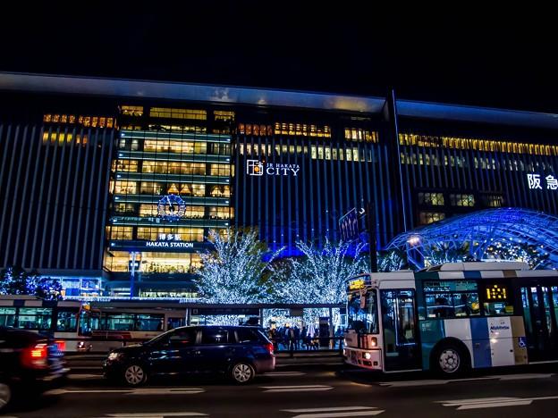 福岡駅のイルミネーション