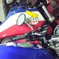 写真: 親父のバイクとw  あと1月ヶ月でこのツーショットが撮れなくなるのかぁ...