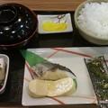 写真: 朝飯 サービスエリアにしては安い400円