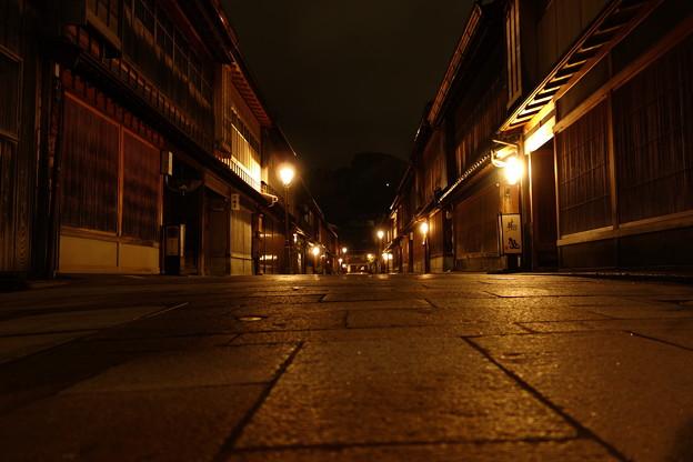 夜の東茶屋街