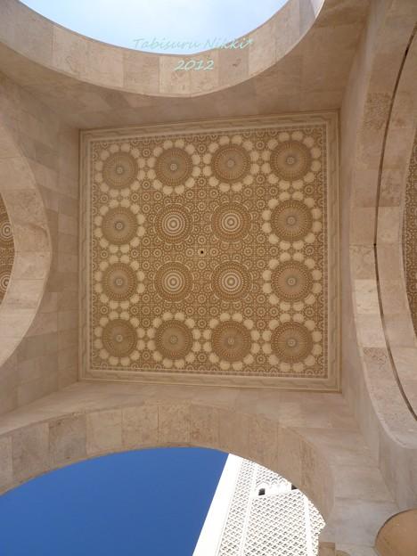 ハッサン2世モスク_天井